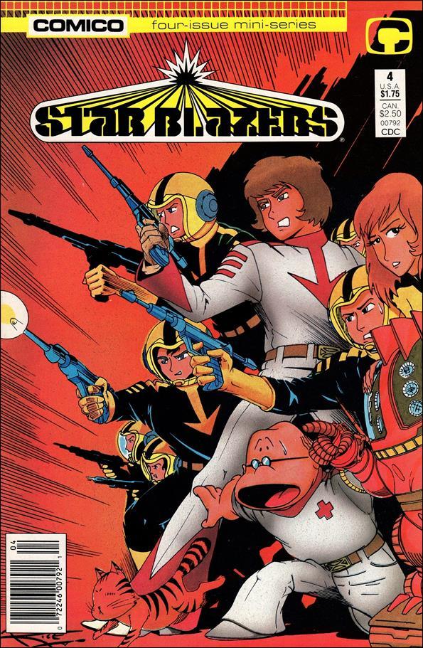 Star Blazers (1987) 4-A by Comico
