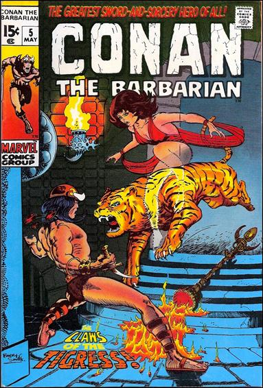 Conan the Barbarian (1970) 5-A by Marvel