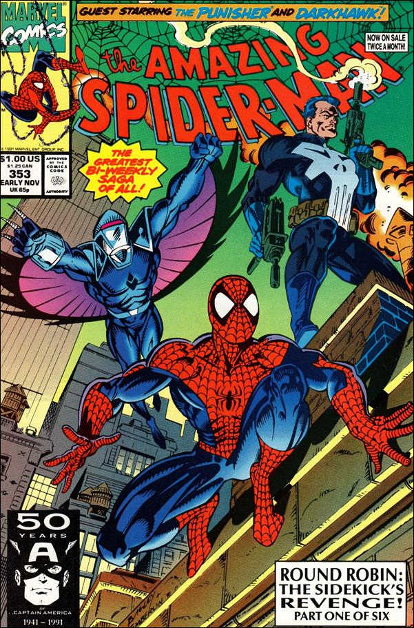 Amazing Spider-Man (1963) 353-A by Marvel
