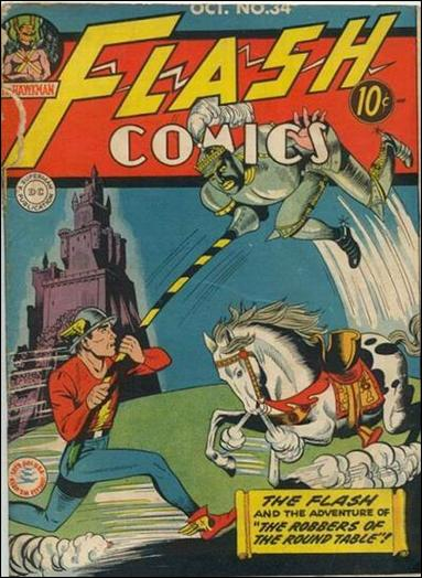 Flash Comics (1939) 34-A by DC