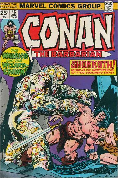 Conan the Barbarian (1970) 46-A by Marvel