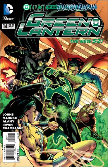 Green Lantern (2011) 14-A by DC