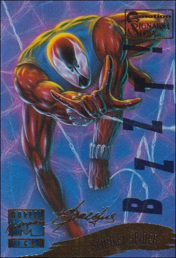 1995 Marvel Masterpieces (Multi-Foil E-Motion Parallel Base Set) 143-A by Fleer