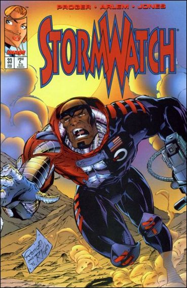 StormWatch (1993) 33-A by Image