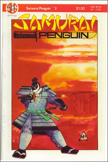 Samurai Penguin 3-A by Slave Labor Graphics (SLG) Publishing