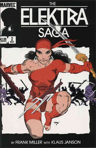 Elektra Saga 2-A by Marvel