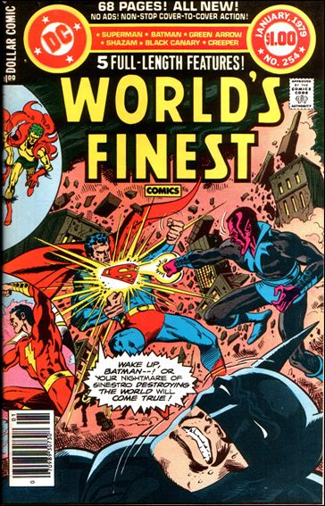 World's Finest Comics 254-A by DC