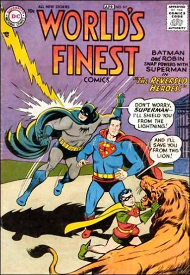 World's Finest Comics 87-A by DC