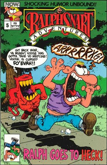 Ralph Snart Adventures (1988) 5-A by Now Comics