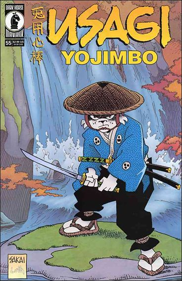 Usagi Yojimbo (1996) 55-A by Dark Horse