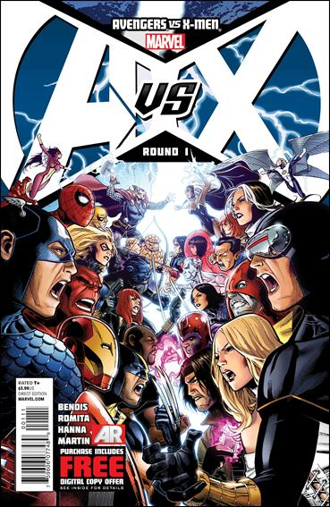 Avengers vs X-Men 1-A by Marvel