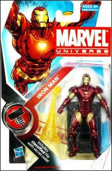 Marvel Universe (Series 2) Iron Man (Extremis Armor) by Hasbro