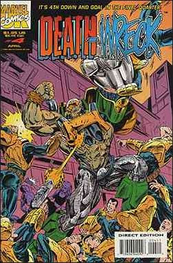Death Wreck (UK) 4-A by Marvel UK