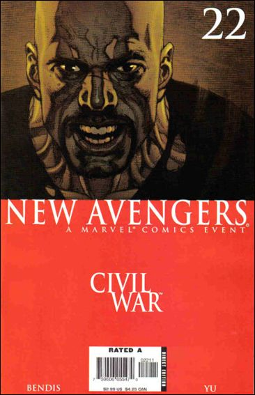 New Avengers (2005) 22-A by Marvel