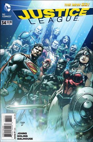 Justice League (2011) 34-A