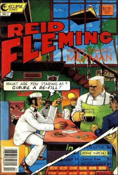 Reid Fleming, World's Toughest Milkman 2-A by Eclipse