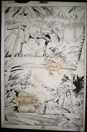 Conan the Barbarian (1970) Issue #213 Page 13
