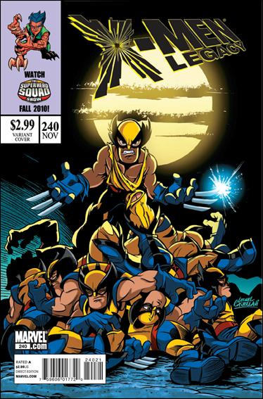 X-Men Legacy (2008) 240-B by Marvel
