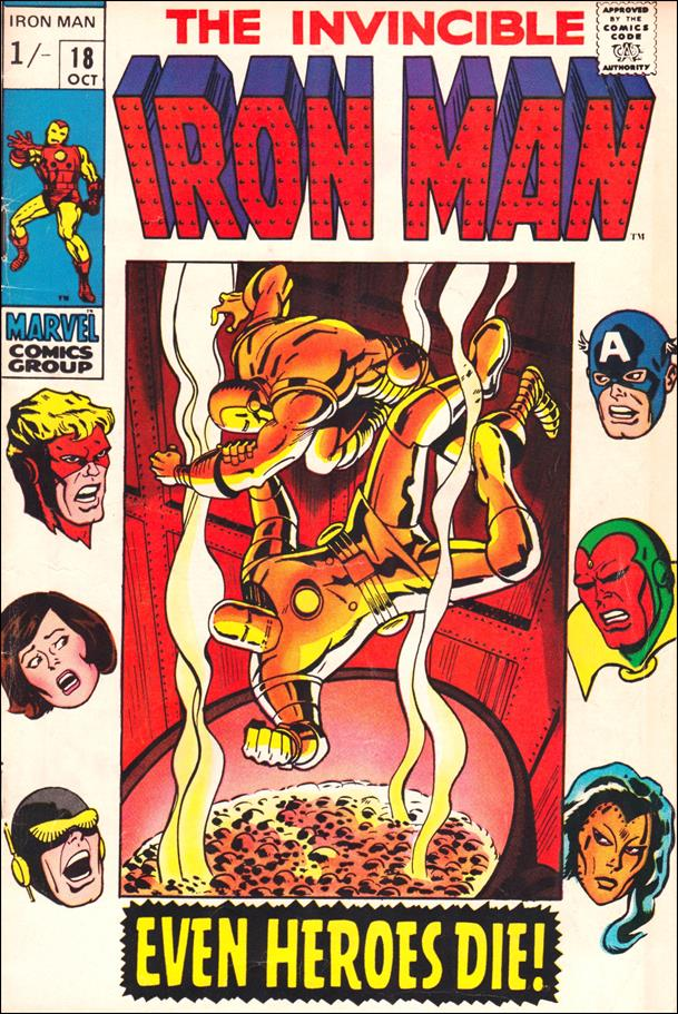 Iron Man (1968) 18-B by Marvel