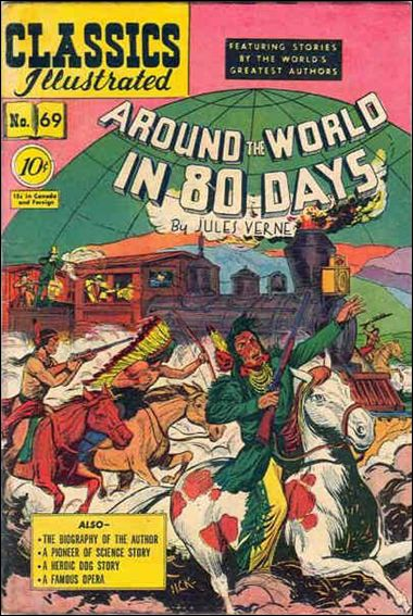 Classic Comics/Classics Illustrated 69-A by Gilberton