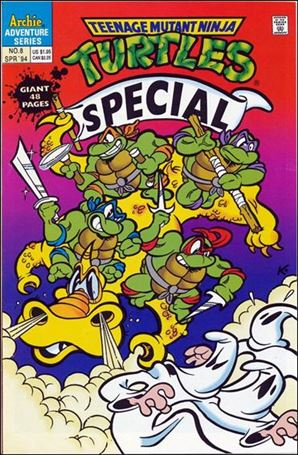 Teenage Mutant Ninja Turtles Special 8-A