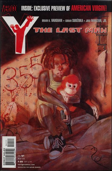 Y: The Last Man 41-A by Vertigo