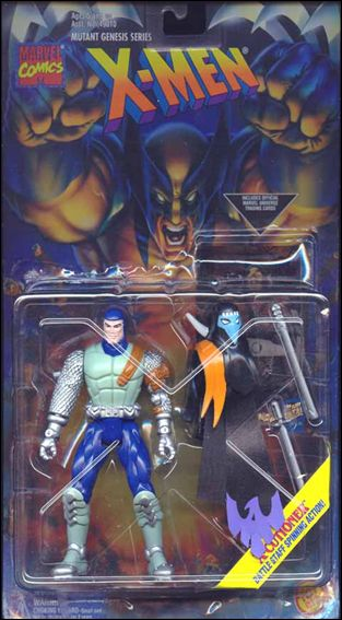 X-Men (Mutant Genesis Series) X-Cutioner (Light Green) by Toy Biz