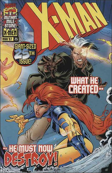 X-Man 25-A by Marvel