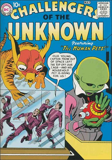 Challengers of the Unknown (1958) 1-A by DC