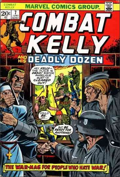 Combat Kelly (1972) 7-A by Marvel