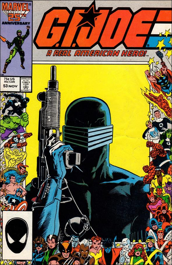 G.I. Joe: A Real American Hero 53-B by IDW