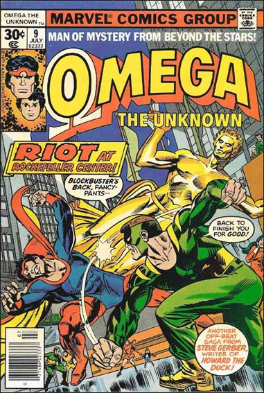 Omega: The Unknown (1976) 9-A by Marvel