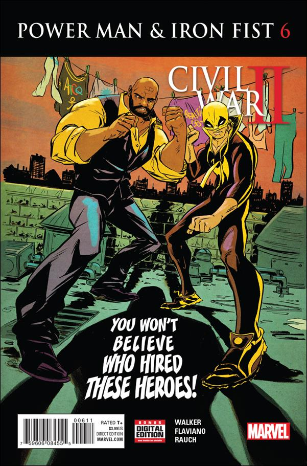 Power Man and Iron Fist (2016)  6-A by Marvel