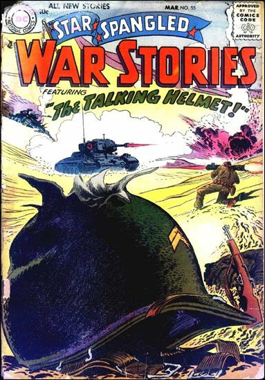Star Spangled War Stories (1952) 55-A by DC