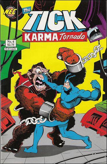 Tick Karma Tornado 6-A by New England Comics Press (NEC / NECP)