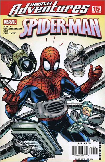 Marvel Adventures Spider-Man (2005) 15-A by Marvel
