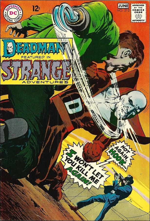 Strange Adventures (1950) 212-A by DC