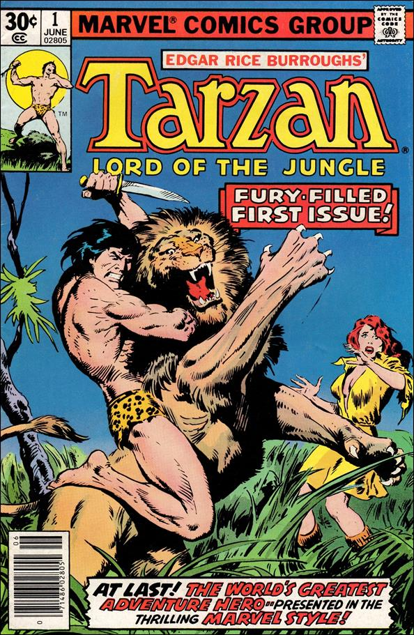 Tarzan (1977) 1-A by Marvel