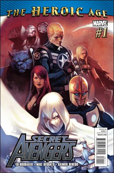 Secret Avengers (2010) 1-A by Marvel