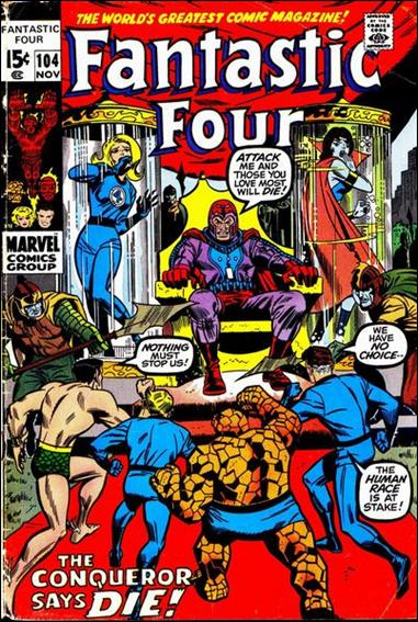 Fantastic Four (1961) 104-A by Marvel
