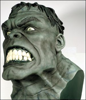 Marvel Life-Size Head Busts Incredible Hulk 1/1962 by Dynamic Forces