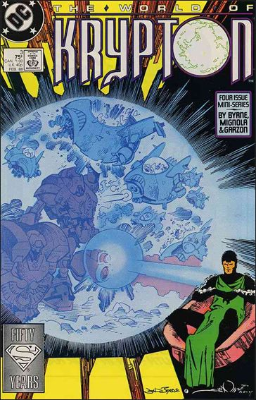 World of Krypton (1987) 3-A by DC