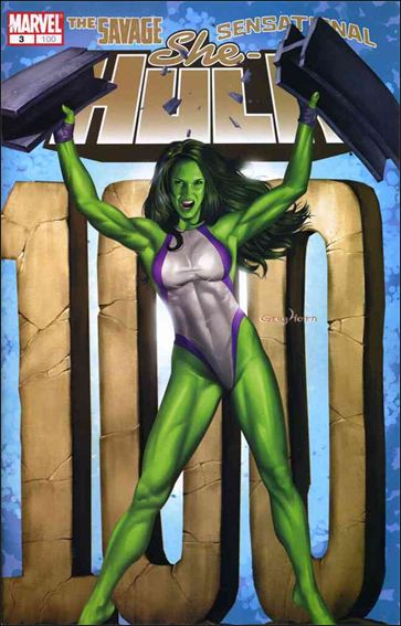 She-Hulk (2005) 3-A by Marvel