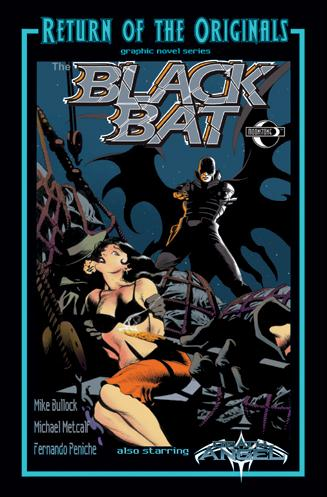 Black Bat (2011) 1-A by Moonstone