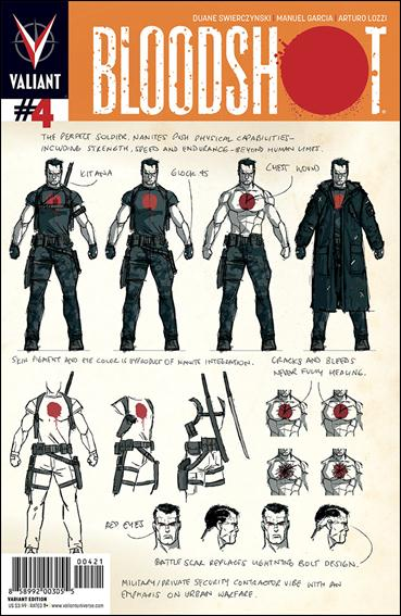 Bloodshot (2012) 4-B by Valiant Entertainment