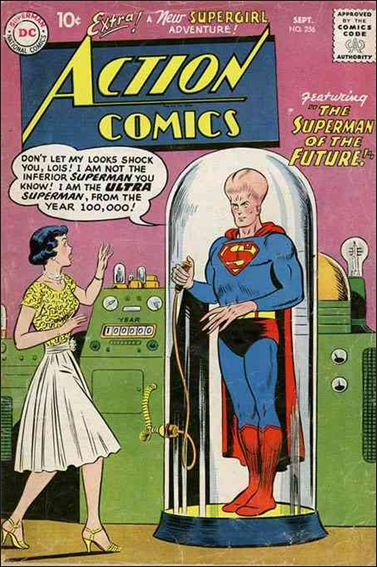 Action Comics (1938) 256-A by DC