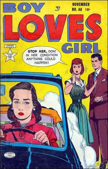 Boy Loves Girl 40-A by Lev Gleason Productions