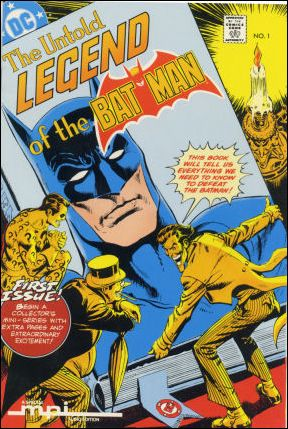 Untold Legend of the Batman 1-C by DC
