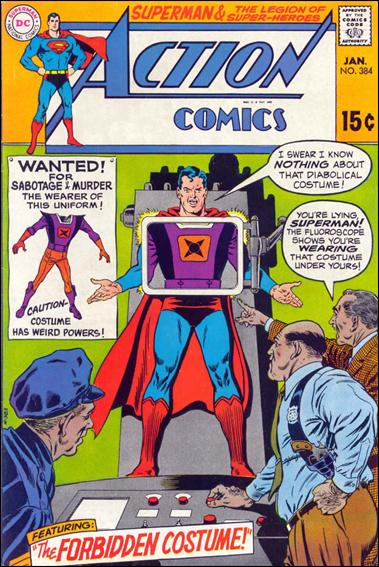 Action Comics (1938) 384-A by DC