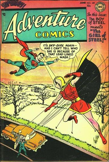 Adventure Comics (1938) 189-A by DC